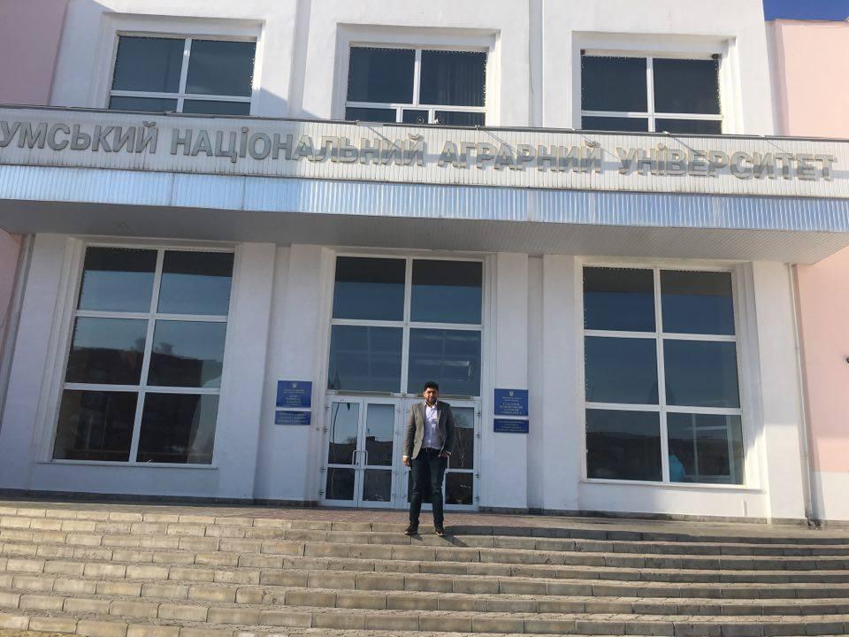 Sumy Ulusal Tarım ve Mühendislik Üniversitesi temaslarımız